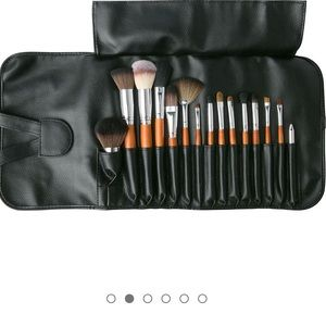palette Makeup - 15 piceces brush set